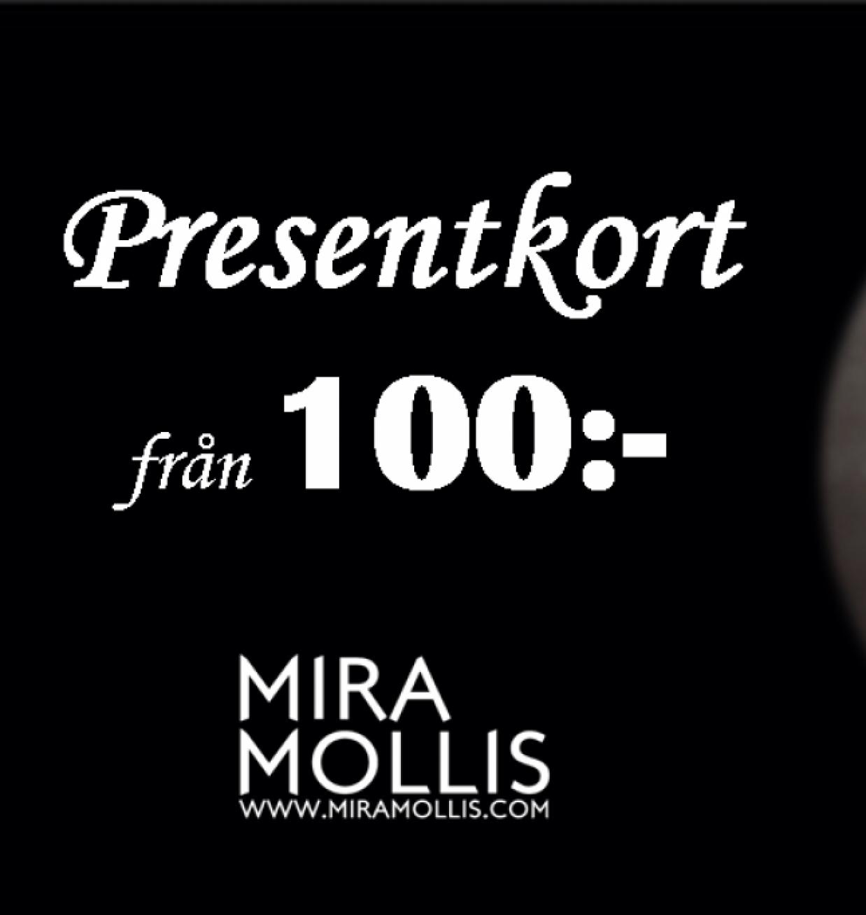 Miramollis Presentkort